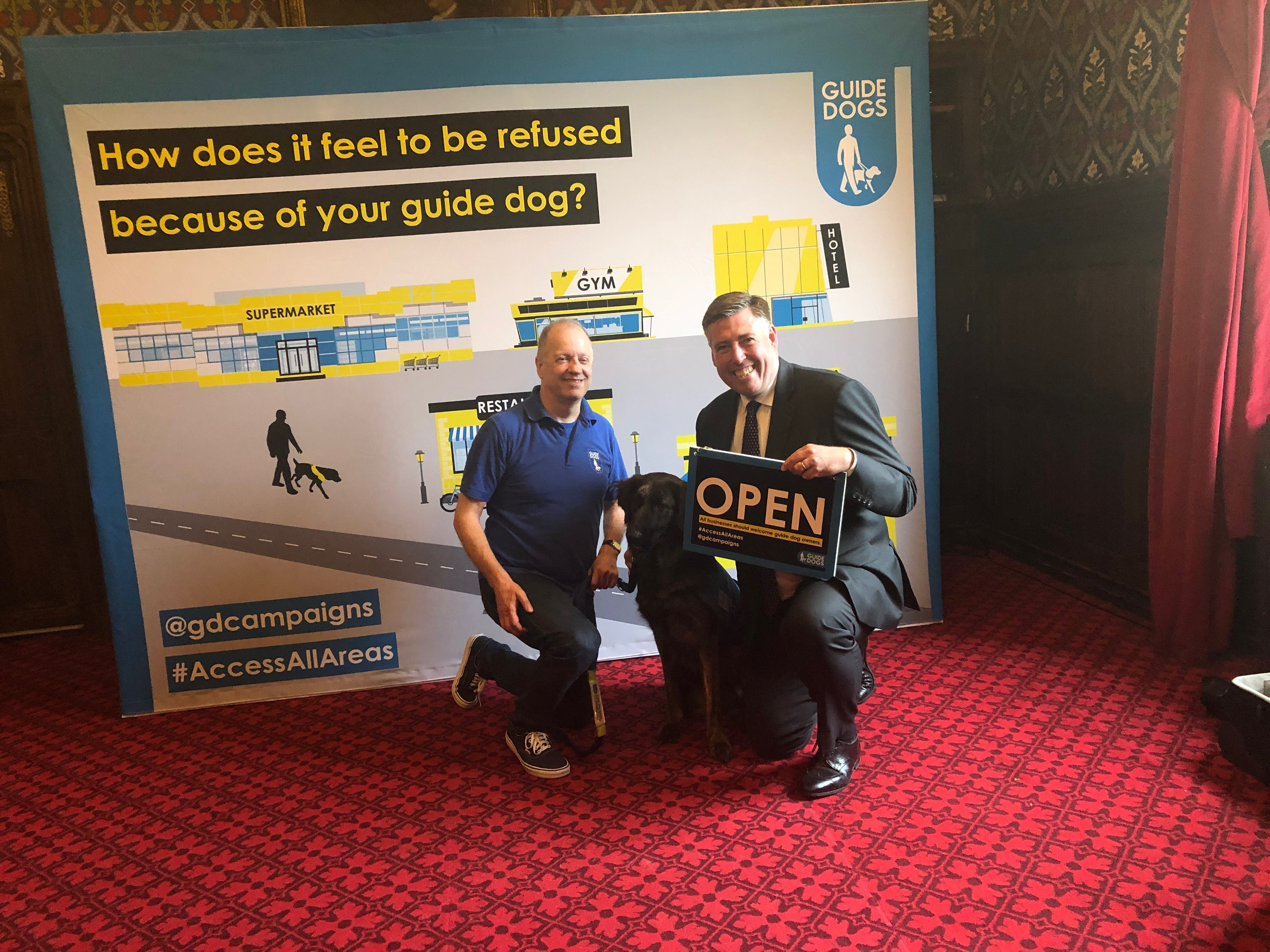 Guide Dogs Access All Areas campaign